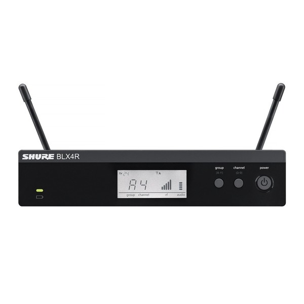 Shure BLX4RE-S8 Rack Mount Wireless Receiver 1