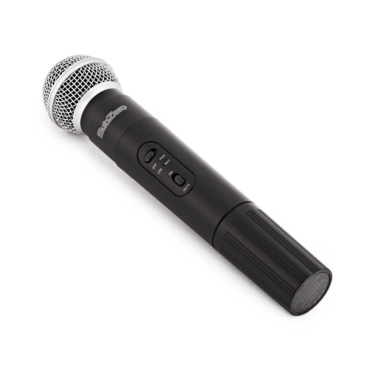 subzero szw 20 handheld wireless microphone system b stock at gear4music. Black Bedroom Furniture Sets. Home Design Ideas
