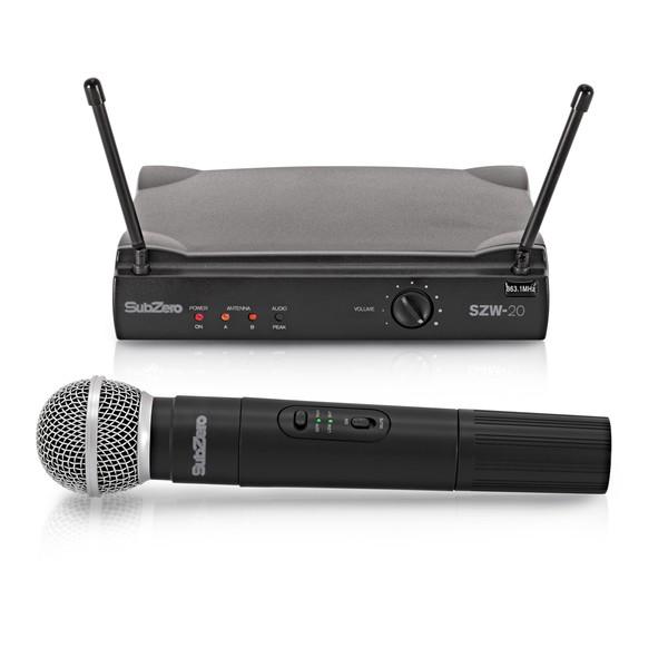SubZero SZW-20 Handheld Wireless Microphone System