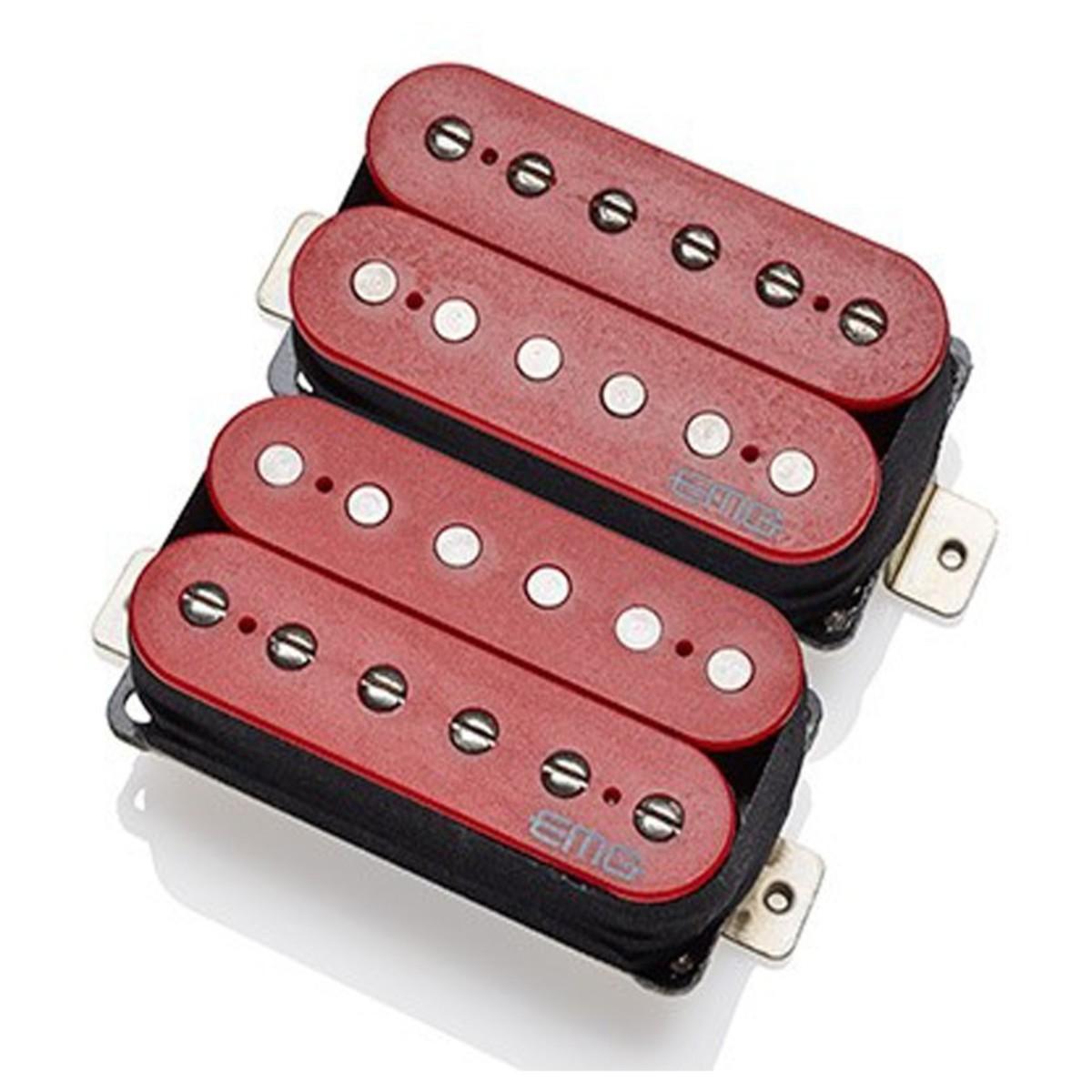 EMG Fat 55 Floyd Pickup Set, Red