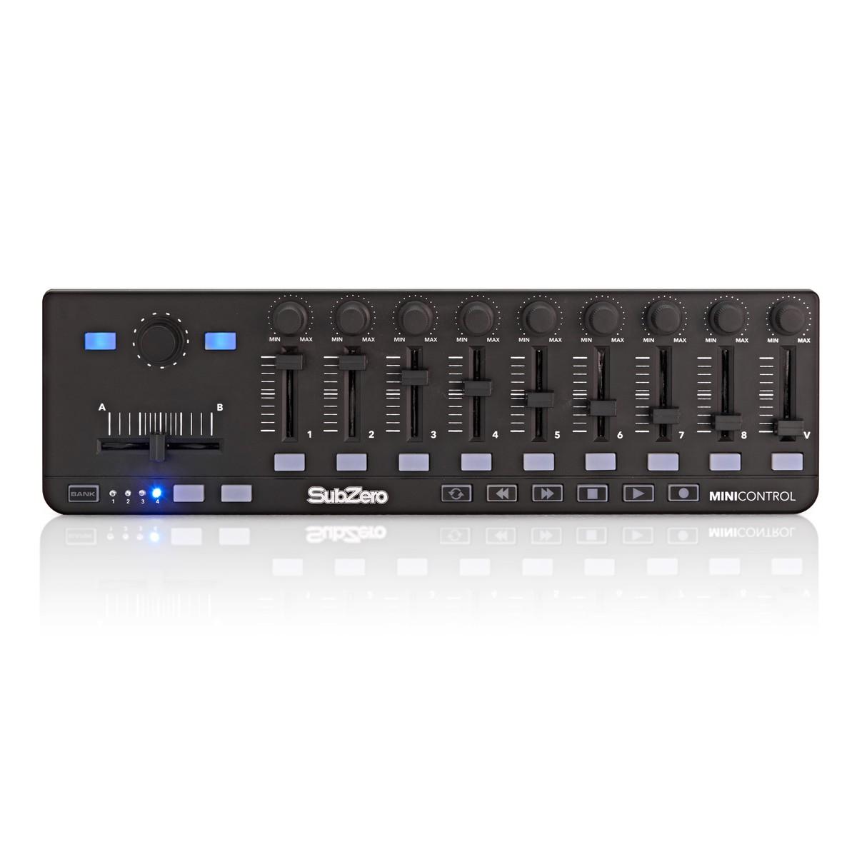 SubZero MiniControl MIDI Controller