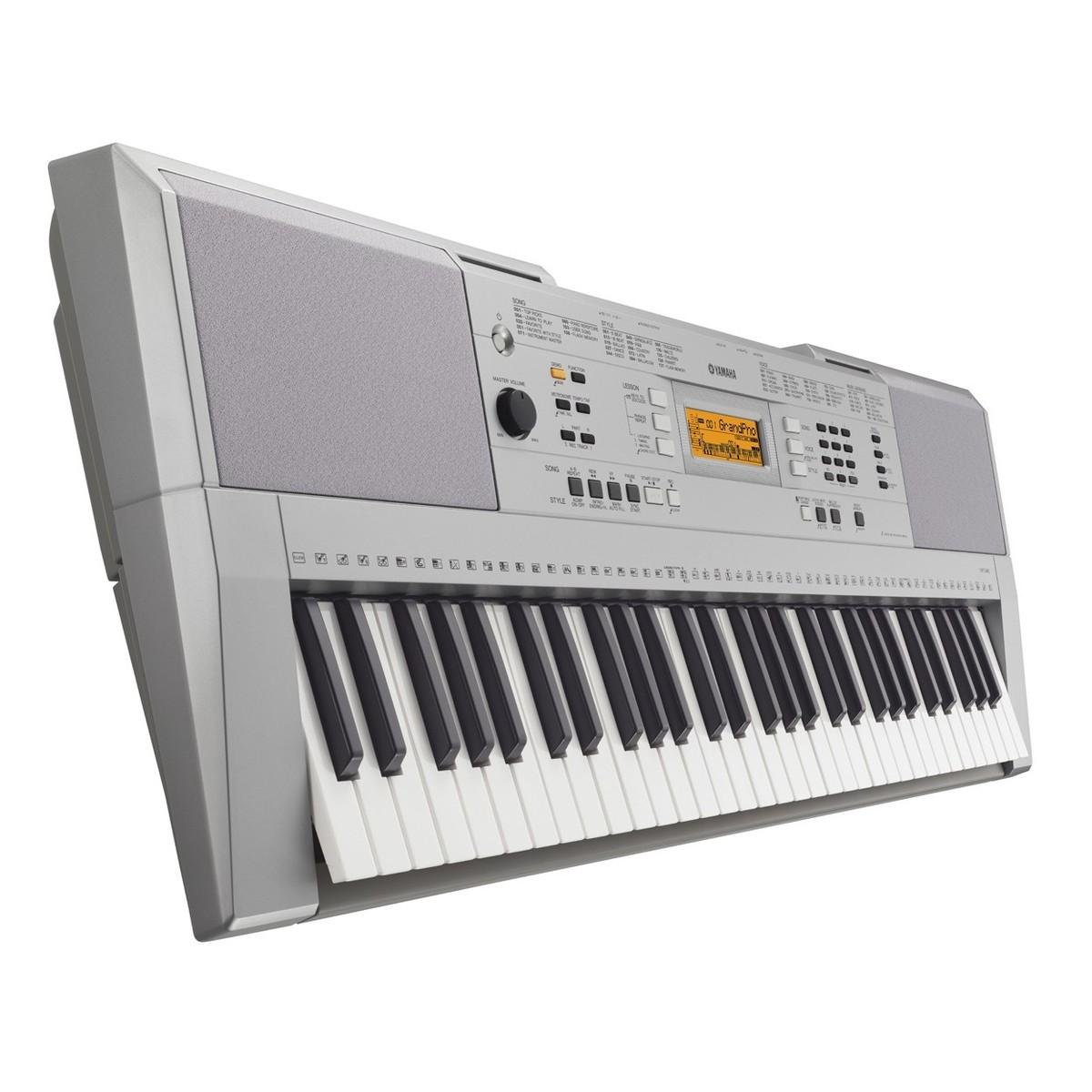 Yamaha YPT 340 Tragbares Keyboard, Paket bei Gear4music