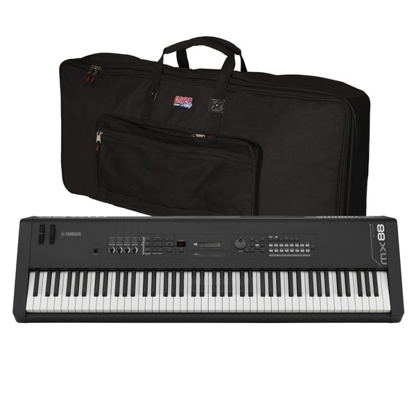 Yamaha MX88 Music Production Synthesizer With Gator Bag - Main