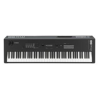 Yamaha MX88 Music Production Synthesizer, Black - Front