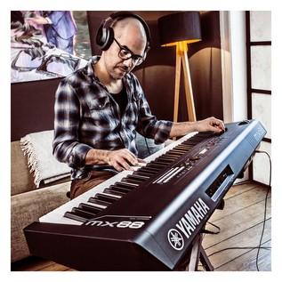 Yamaha MX88 Music Production Synthesizer, Black - Live (3)
