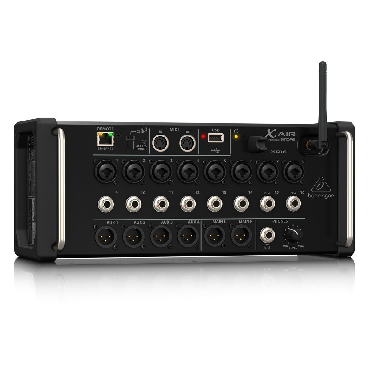 behringer x air xr16 16 channel digital mixer with gator padded bag at gear4music. Black Bedroom Furniture Sets. Home Design Ideas