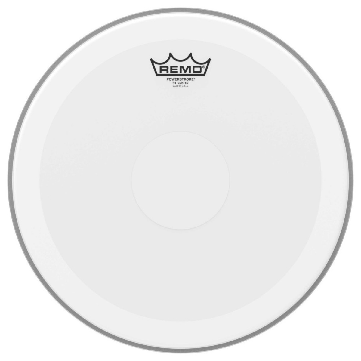 Remo Powerstroke 4 Coated 14 Clear Dot Drum Head
