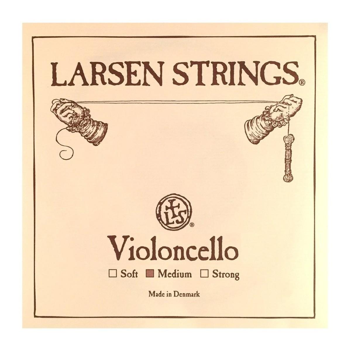 Larsen Medium Cello D String, 1/2