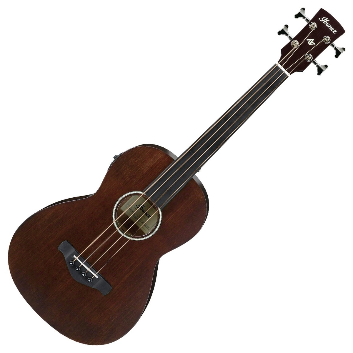 ibanez avnb1fe fretless electro acoustic 2018 brown semi gloss at gear4music. Black Bedroom Furniture Sets. Home Design Ideas