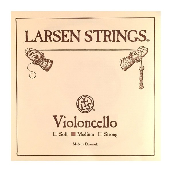 Larsen Medium Cello D String, 1/4