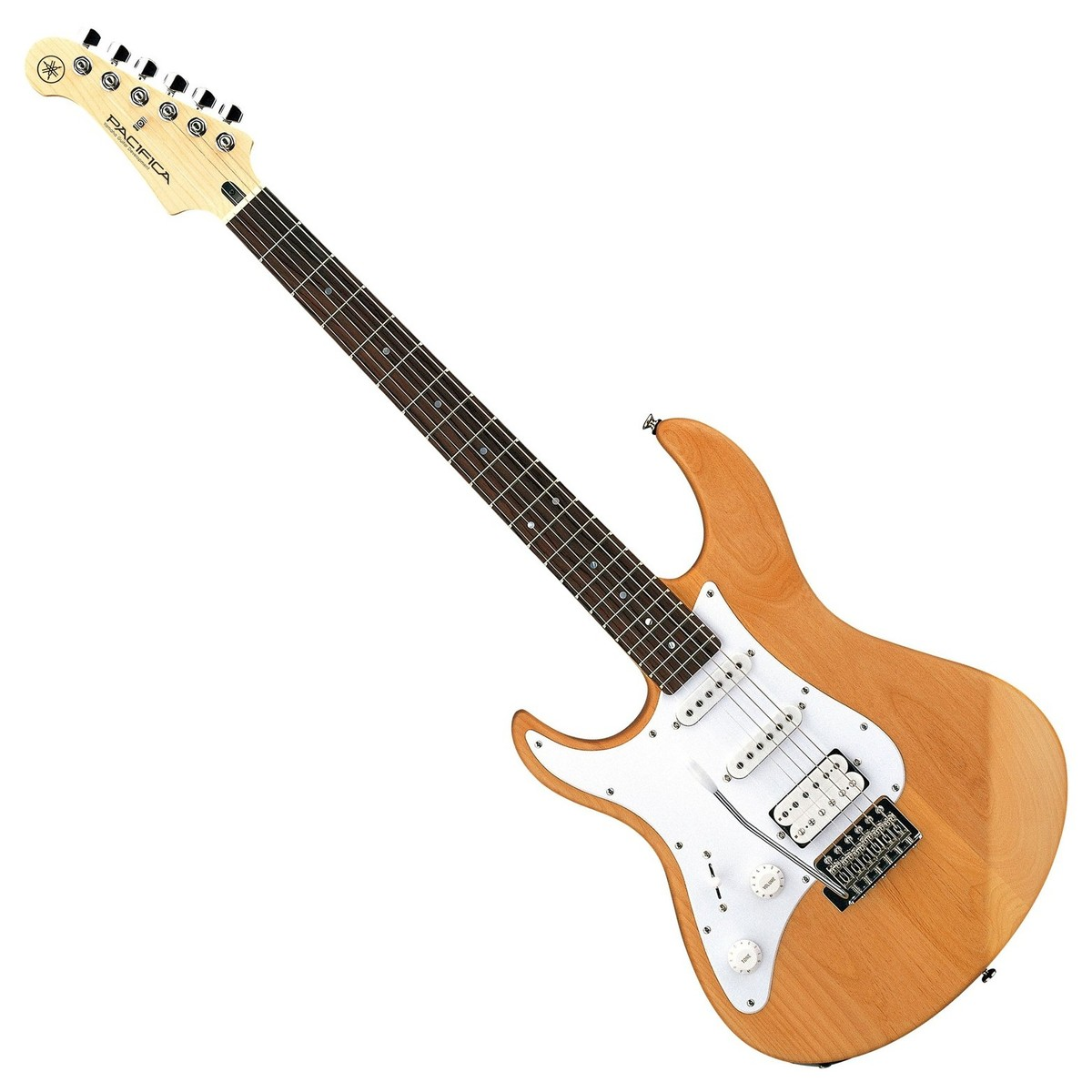 yamaha pacifica 112j left handed electric guitar yellow natural box opened at gear4music. Black Bedroom Furniture Sets. Home Design Ideas