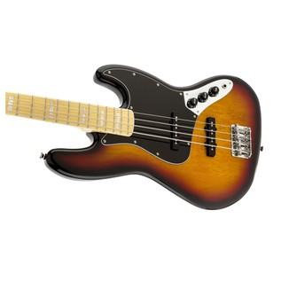 Squier by Fender Vintage Modified '77 Jazz Bass, 3-Tone Sunburst  L