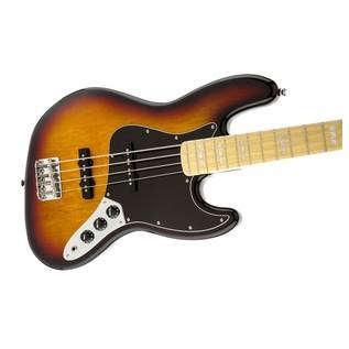 Squier by Fender Vintage Modified '77 Jazz Bass, 3-Tone Sunburst R