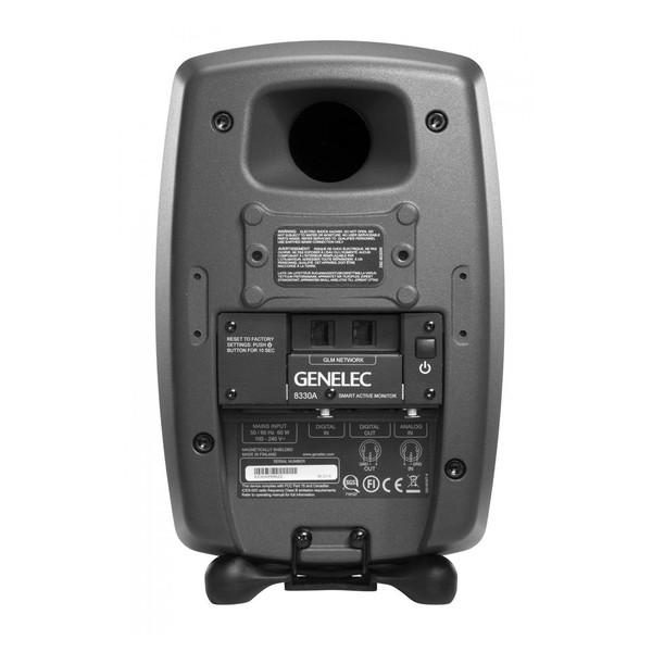 Genelec 8330APM Bi-Amplified Smart Active Monitor (Grey) - Rear