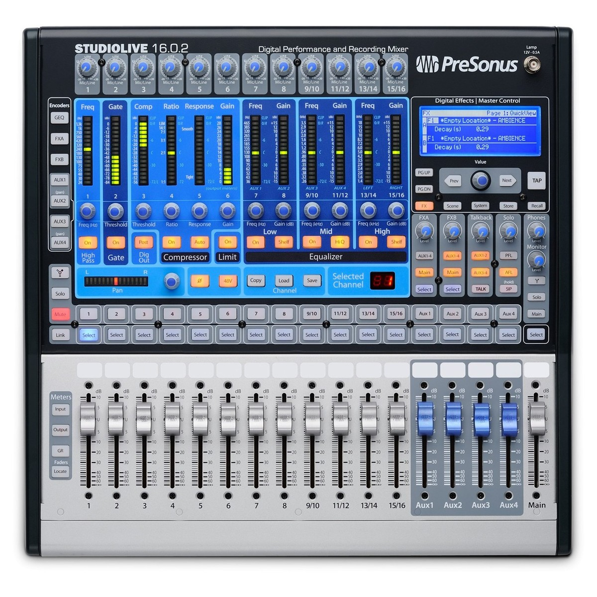 presonus studiolive 16 0 2 usb digital mixer at gear4music. Black Bedroom Furniture Sets. Home Design Ideas