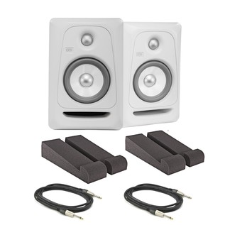 KRK Rokit RP5 G3 Active Monitors with Isolation Pads and Cables, Pair - Main