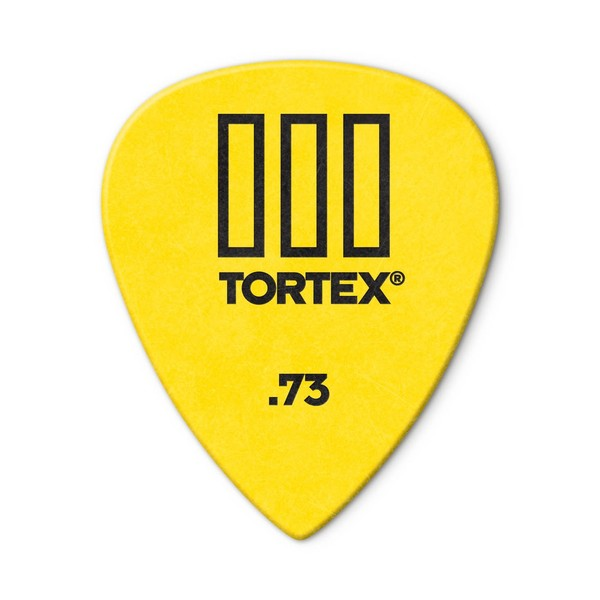 Jim Dunlop Tortex lll 0.73mm, 12 Pick Pack Main Image