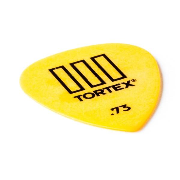 Jim Dunlop Tortex lll 0.73mm, Angled View