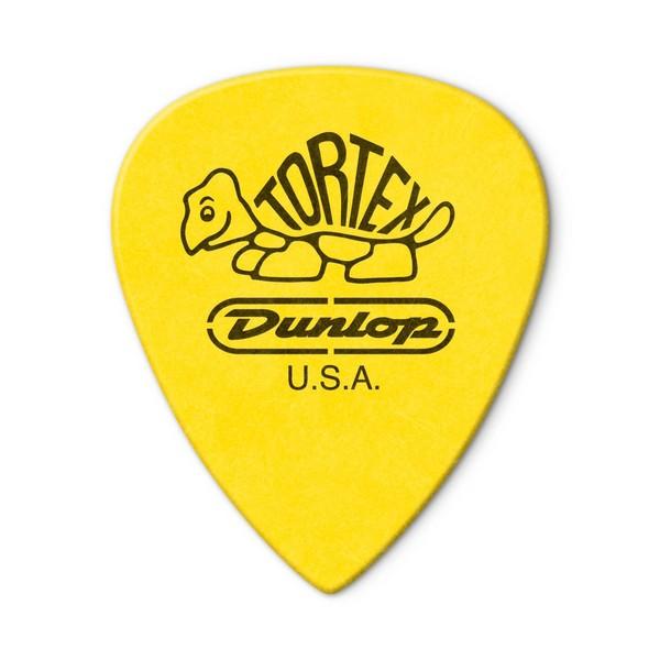 Jim Dunlop Tortex lll 0.73mm, Back of Pick View