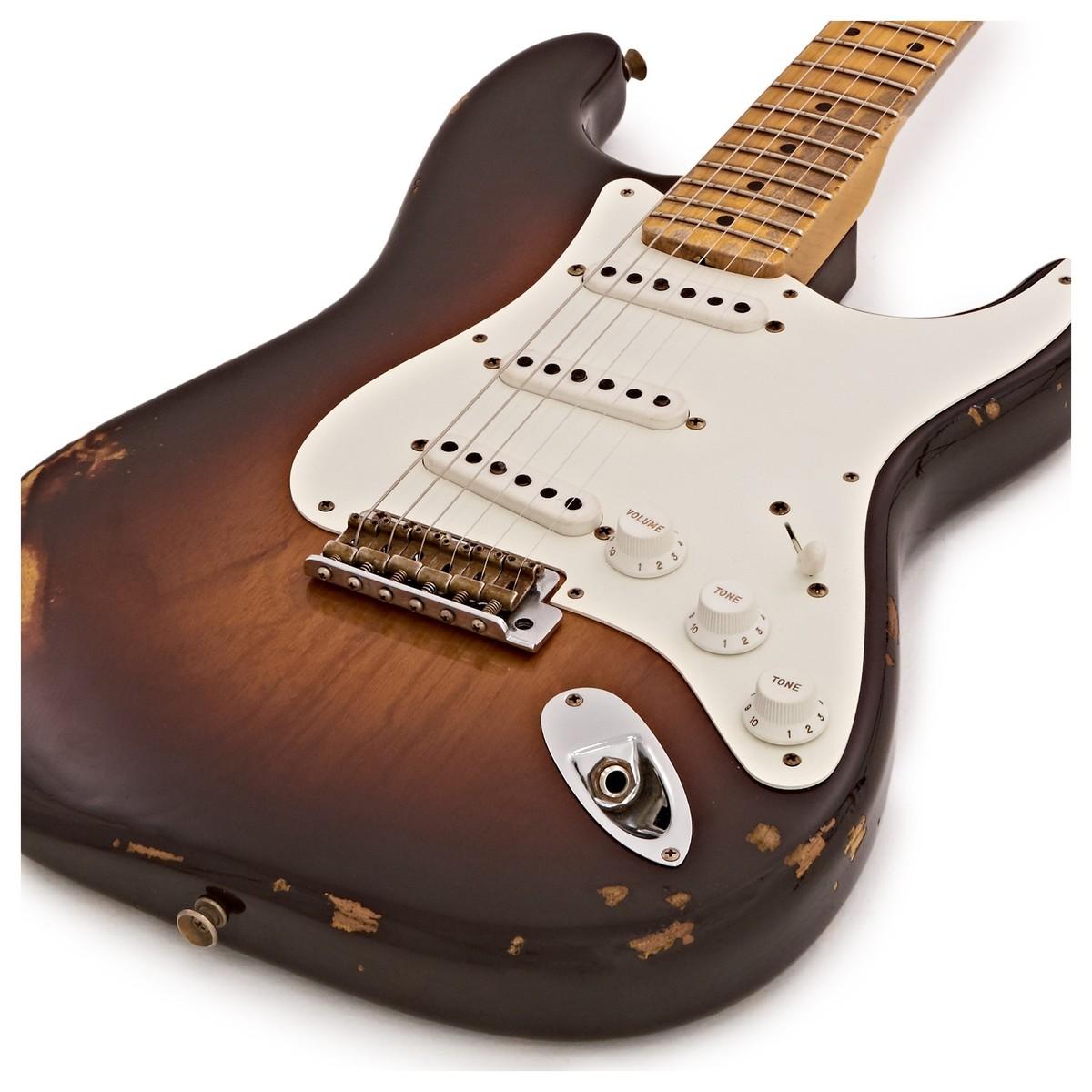 SOLD Fender Custom Shop 1955 Heavy Relic Stratocaster, Sunburst