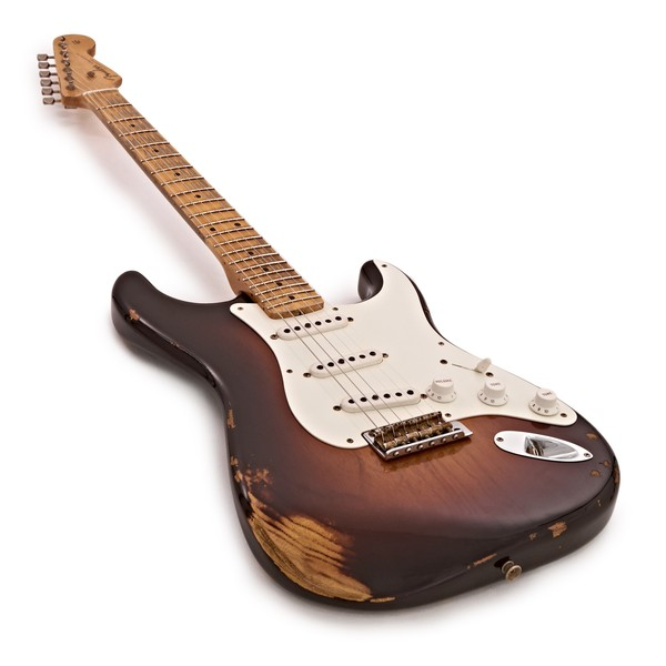 Fender Custom Shop 1955 Heavy Relic Stratocaster, Sunburst #CZ531542