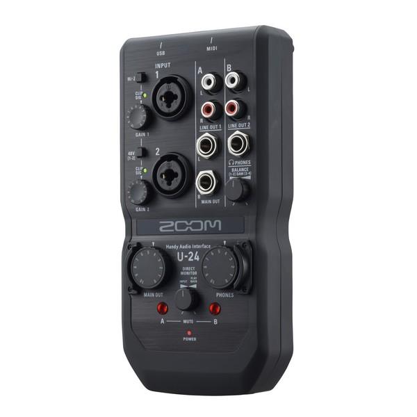 U-24 Audio Interface - Angled 2