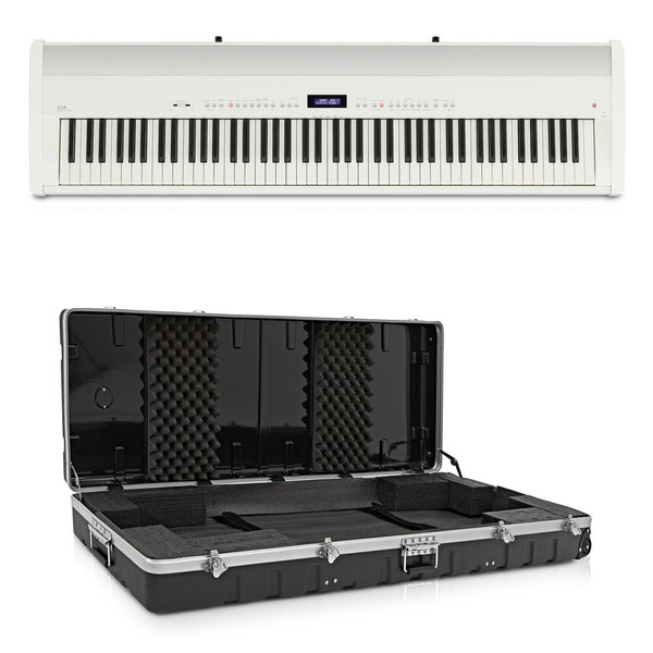 Kawai ES8 Digital Piano Case Pack, White