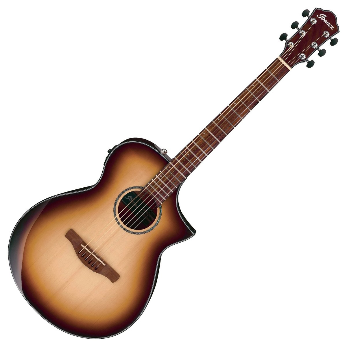 ibanez aewc300 electro acoustic 2018 natural brown burst at gear4music. Black Bedroom Furniture Sets. Home Design Ideas