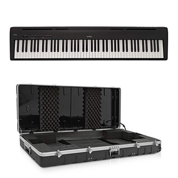Kawai ES110 Digital Stage Piano Case Package, Black