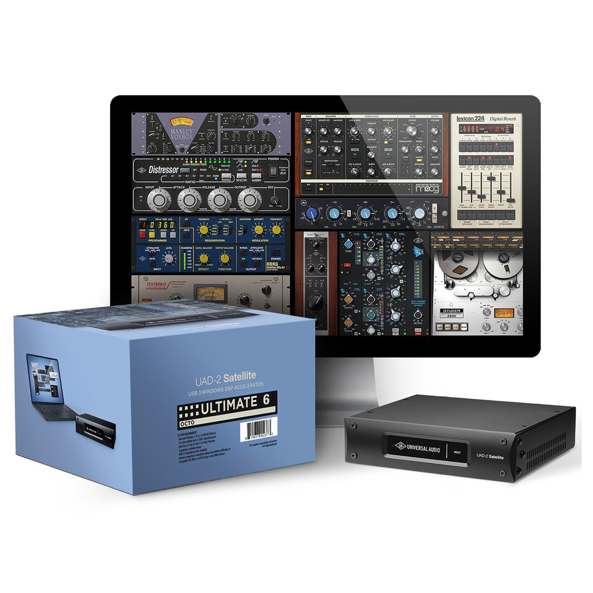 Universal audio uad 2 satellite usb octo ultimate 6 na gear4music universal audio uad 2 satellite usb octo ultimate 6 main loading zoom stopboris Image collections