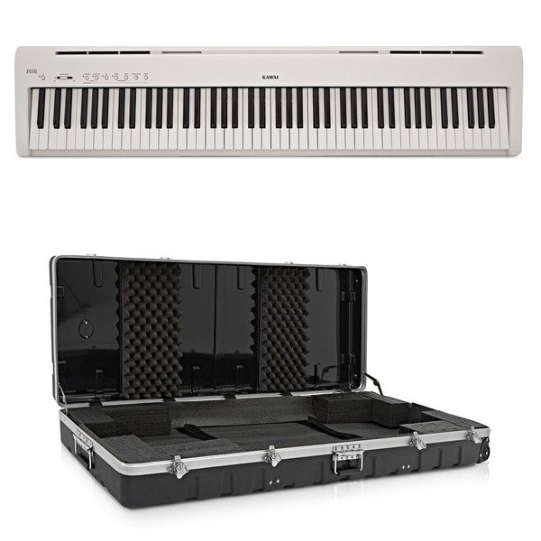 Kawai ES110 Digital Stage Piano Case Package, White