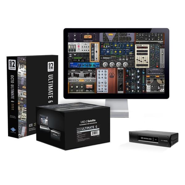Universal Audio UAD-2 Satellite Thunderbolt, OCTO Ultimate 6 - Main