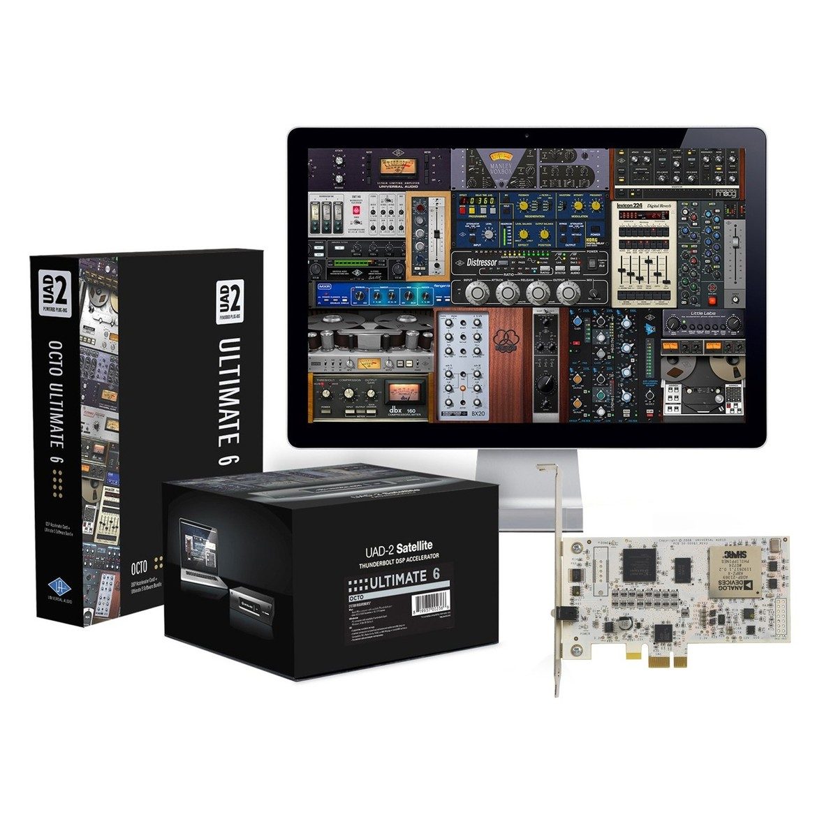 Universal audio uad 2 octo ultimate 6 dsp accelerator card na universal audio uad 2 octo ultimate 6 dsp accelerator card main loading zoom stopboris Image collections