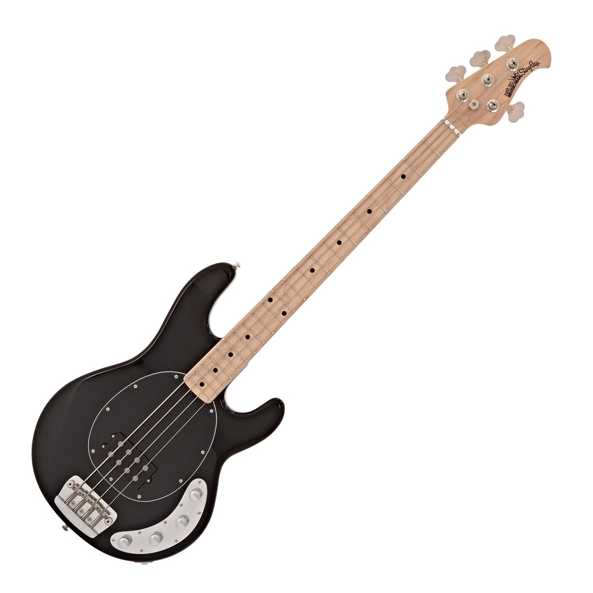 music man stingray 3eq bass guitar mn black at. Black Bedroom Furniture Sets. Home Design Ideas