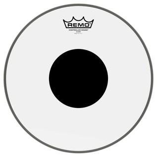 Remo Controlled Sound Clear 12'' Black Dot Drum Head
