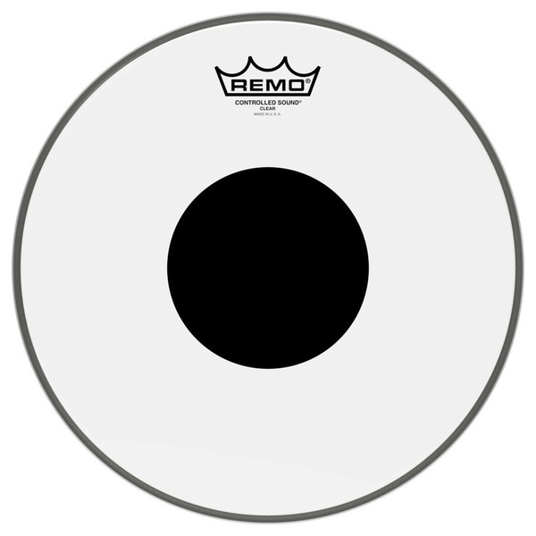 Remo Controlled Sound Clear 22'' Black Dot Bass Drum Head