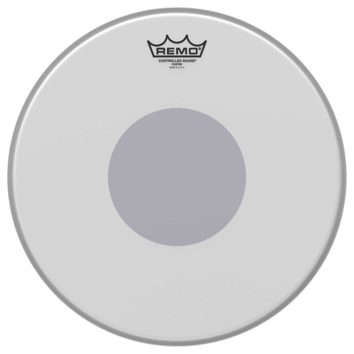 remo controlled sound coated 14 39 39 reverse black dot snare drum head at gear4music. Black Bedroom Furniture Sets. Home Design Ideas