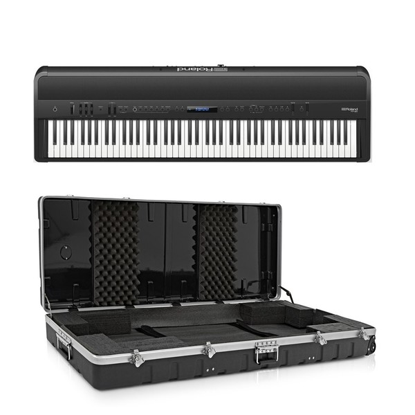 Roland FP 90 Digital Piano Package, Black