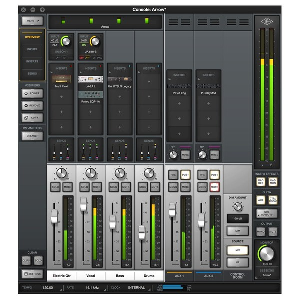 Universal Audio Arrow - Console