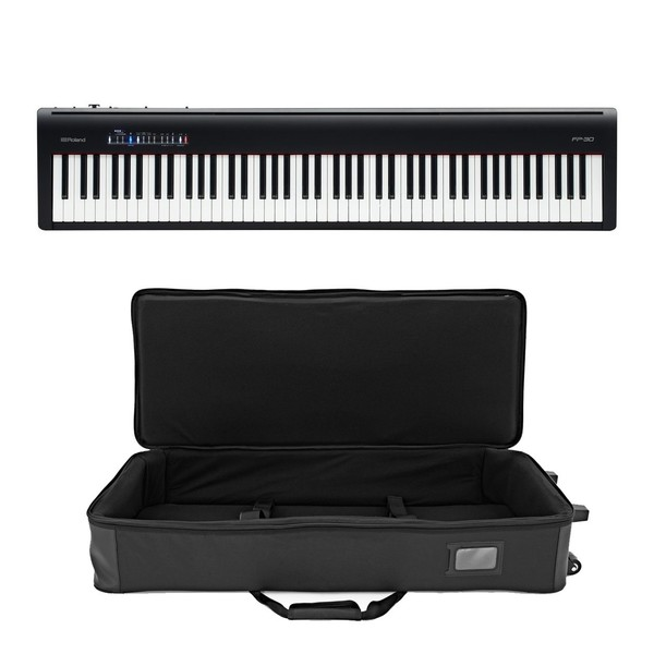 Roland Fp 30 Digitalpiano Schwarz Mit Case Gear4music