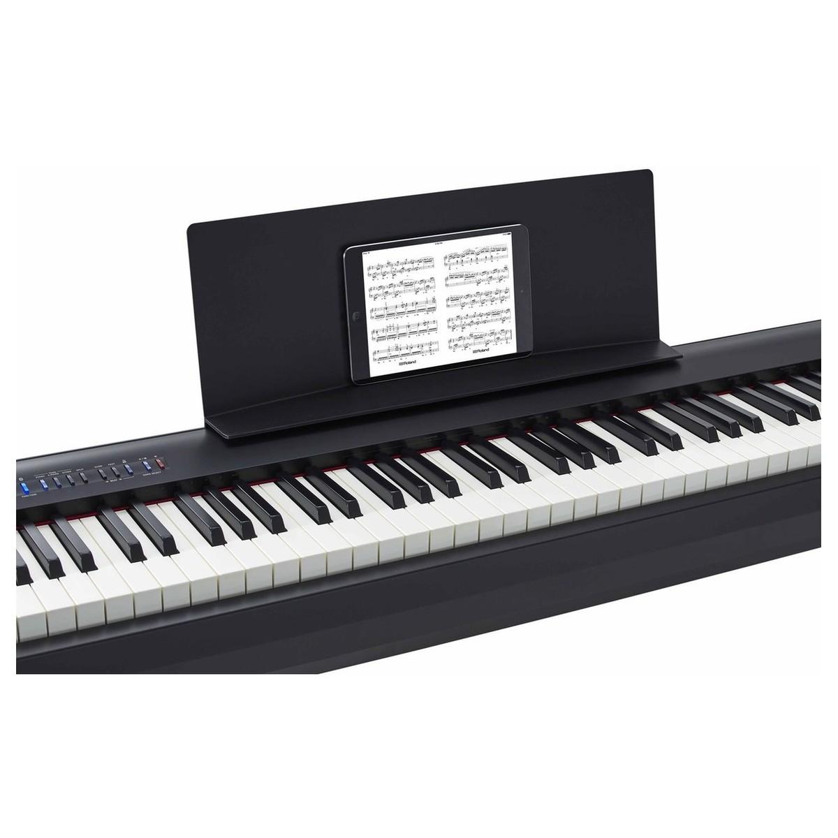 Piano Digital Fp 30 Wh Roland : roland fp 30 digital piano package black at gear4music ~ Hamham.info Haus und Dekorationen