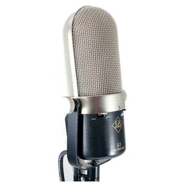 Golden Age R1 MK3 Active Ribbon Microphone - Angled