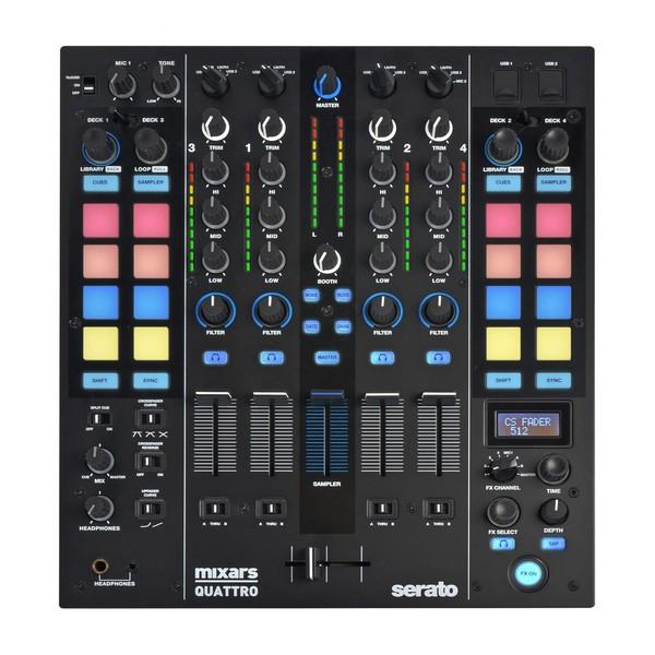 Mixars Quattro 4 Channel Serato DJ Mixer - Main