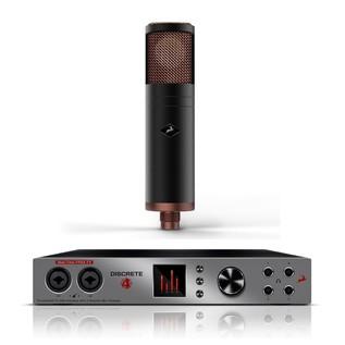 Antelope Audio Discrete 4 Premium With Edge Modeling Microphone - Main