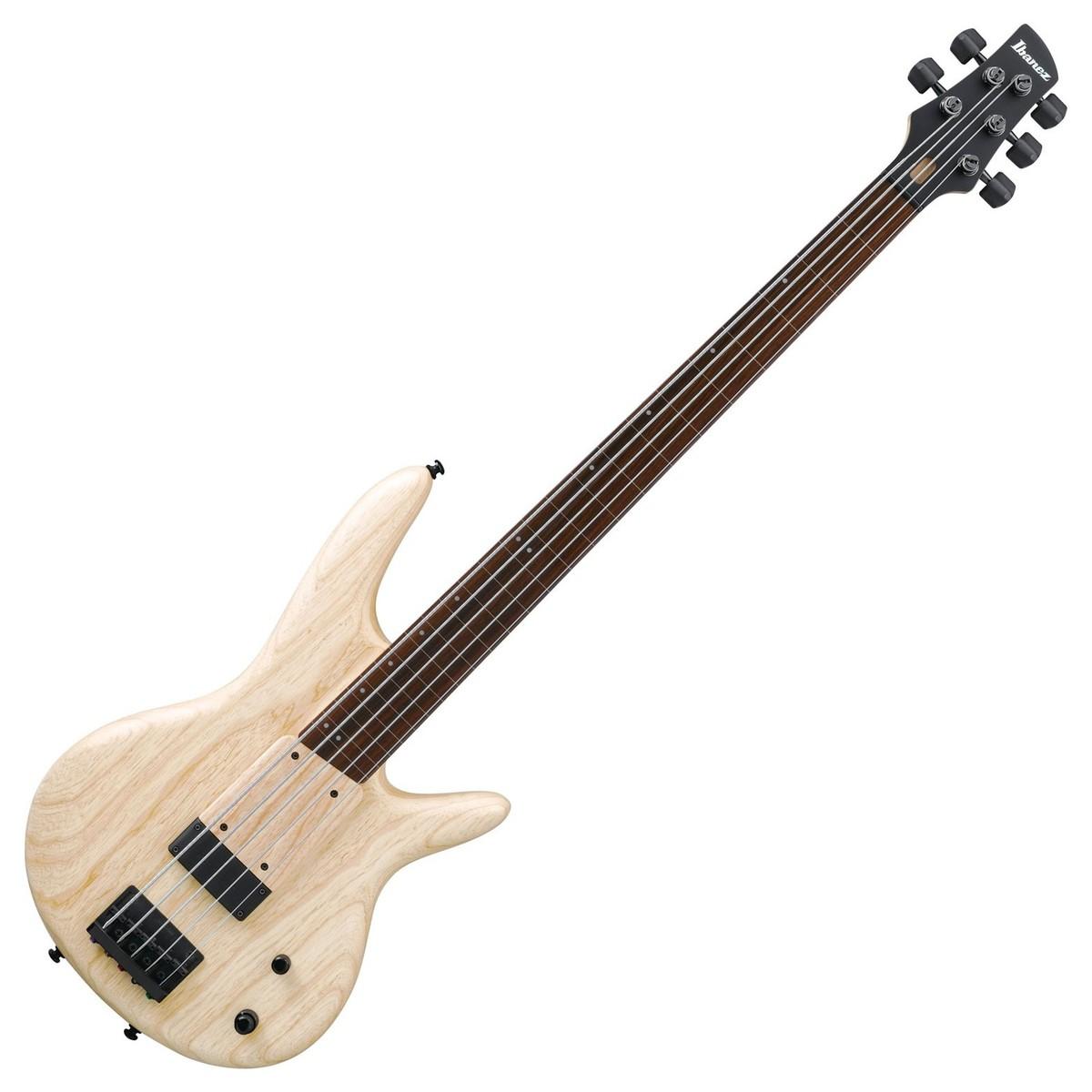 ibanez gwb1005 gary willis 5 string fretless bass 2018 natural flat at gear4music. Black Bedroom Furniture Sets. Home Design Ideas