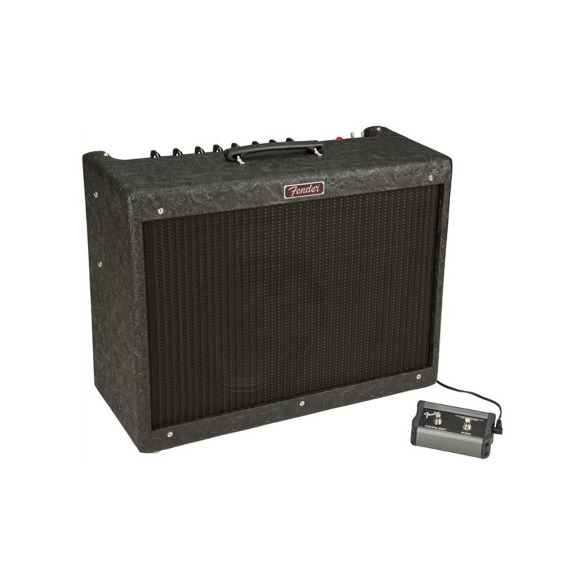 fender blues deluxe reissue ltd black western b stock at gear4music. Black Bedroom Furniture Sets. Home Design Ideas