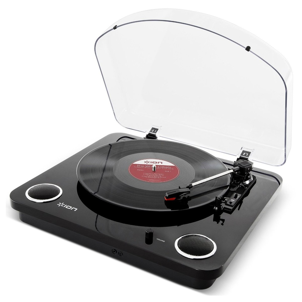 Click to view product details and reviews for Ion Max Lp Usb Turntable With Integrated Speakers Black Box Opened.