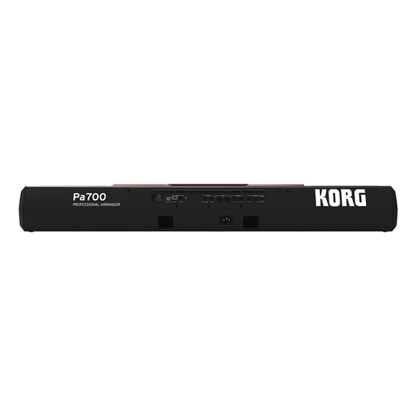 Korg Pa700 Oriental Professional Arranger Keyboard Rear