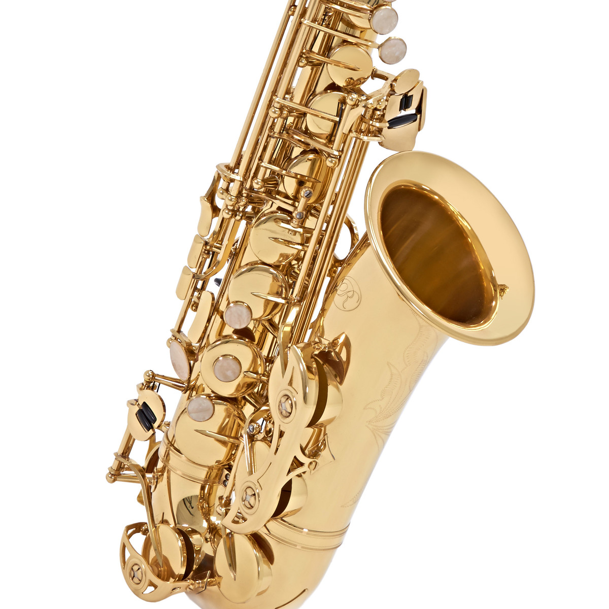 how to draw a alto saxophone