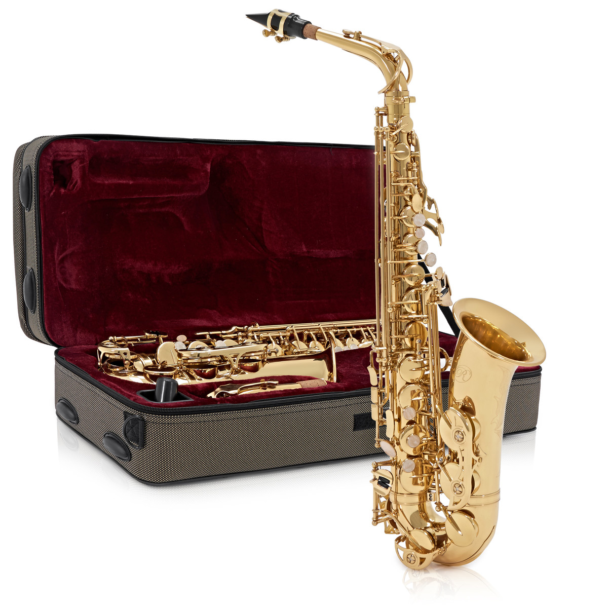 Click to view product details and reviews for Rosedale Professional Alto Saxophone By Gear4music B Stock.